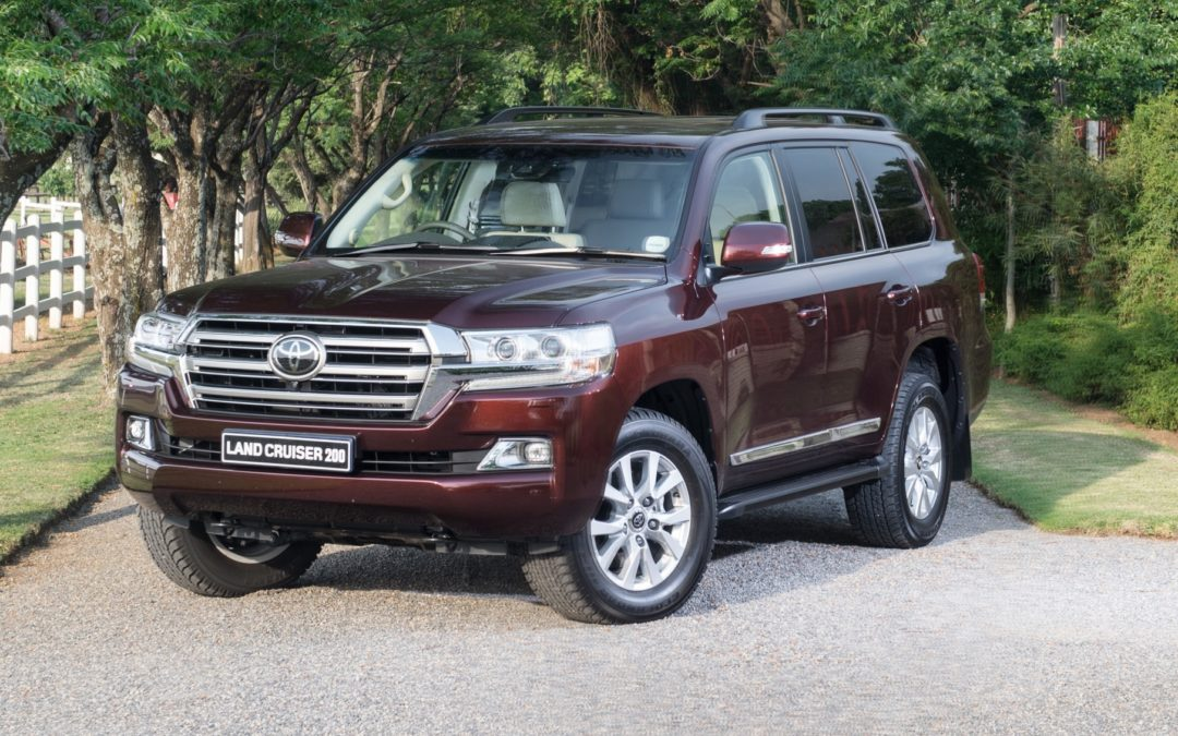 Land Cruiser VXR geloods